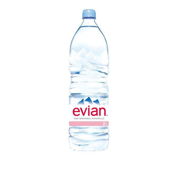 Grocery Delivery London - Evian Water 2L same day delivery