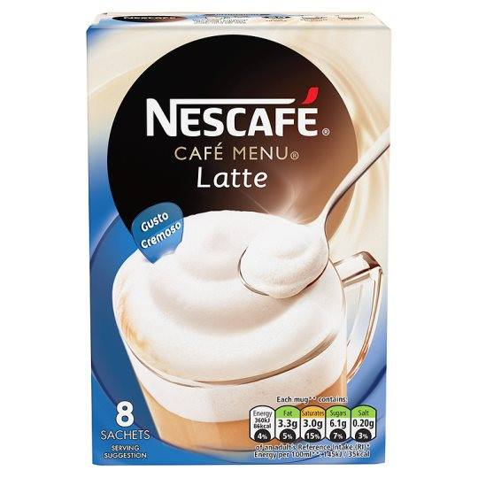 Grocery Delivery London - Nescafe Cafe Menu 8 Servings 184g same day delivery