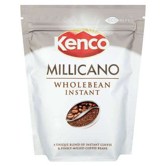 Grocemania Grocery Delivery London| Kenco Millicano Wholebean Instant Coffee Refill 85g