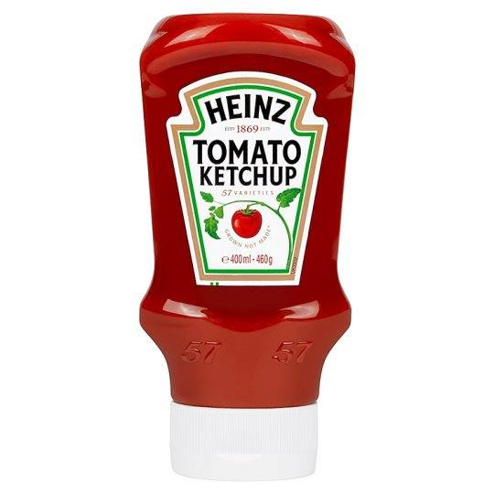 Grocemania Grocery Delivery London| Heinz Tomato Ketchup 460g