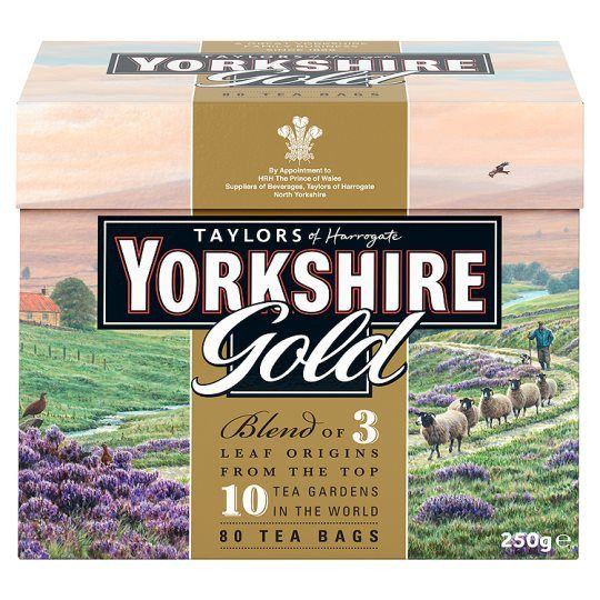 Grocemania Grocery Delivery London| Yorkshire 80 Teabags 250g