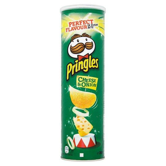 Grocemania Grocery Delivery London| Pringles Cheese And Onion Crisps 200g