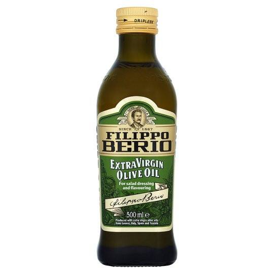 Grocemania Grocery Delivery London| Filippo Berio Extra Virgin Olive Oil 500ml