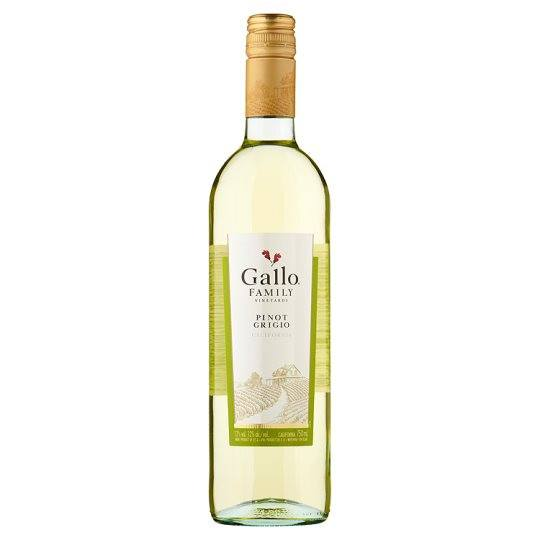 Grocemania | Gallo Family Vineyards Pinot Grigio 75cl | Online Grocery Delivery