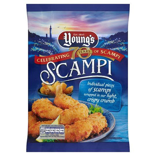 Youngs Scampi 220g - Grocemania
