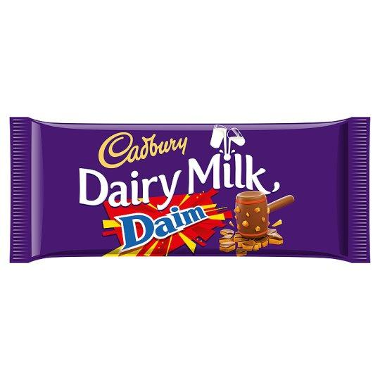 Grocery Delivery London - Cadbury Dairy Milk Daim 120g same day delivery