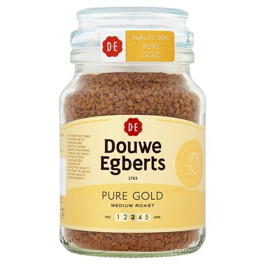 Grocemania Grocery Delivery London| Douwe Egberts Classic Roast Instant Coffee 200g