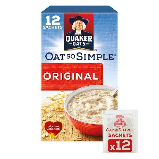 Grocemania Grocery Delivery London| Quaker Oat So Simple Original Porridge 12 X27g