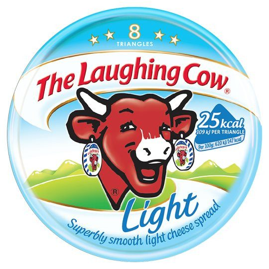Grocery Delivery London - Laughing Cow Light Cheese Triangles 140g same day delivery