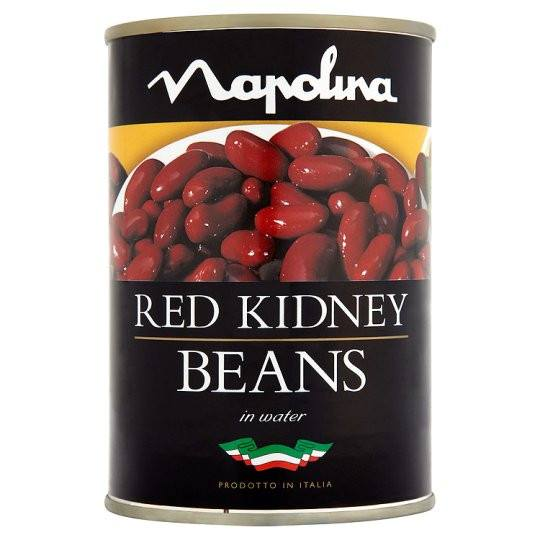 Grocery Delivery London - Napolina Red Kidney Beans 400g same day delivery