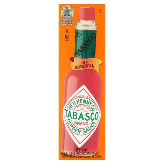Grocemania Grocery Delivery London| Tabasco Pepper Sauce 57ml