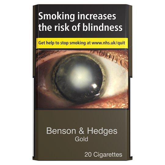 Grocemania Grocery Delivery London| Benson And Hedges Gold 20 Pack