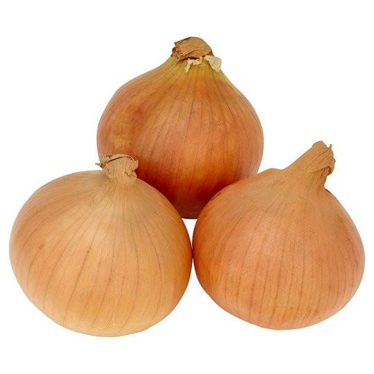Grocery Delivery London - Brown Onion (3 pieces) same day delivery
