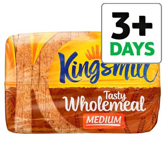Grocery Delivery London - Kingsmill Tasty Wholemeal Medium Bread 800g same day delivery