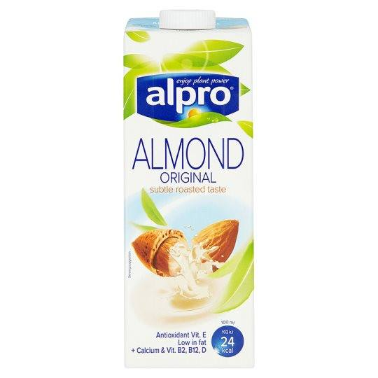Grocemania Grocery Delivery London| Alpro Almond Longlife Milk Alternative 1L