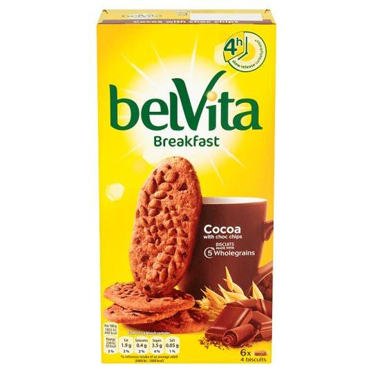 Grocemania Grocery Delivery London| Belvita Cocoa Chocolate Chip 300g