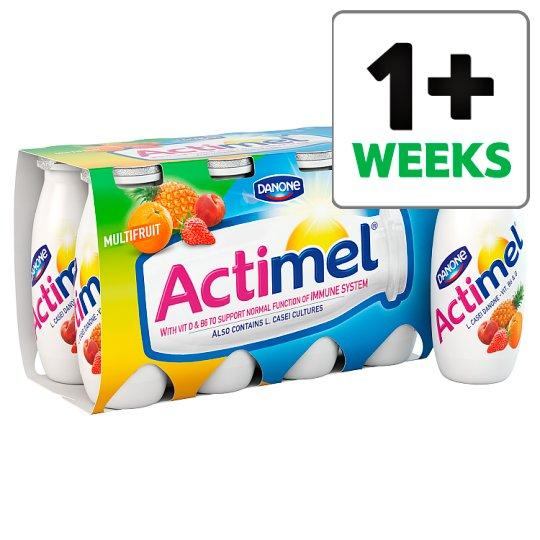 Grocemania Grocery Delivery London| Actimel Multifruit Yogurt Drink 8 X100g