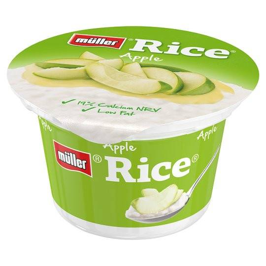 Grocery Delivery London - Muller Rice Apple 180g same day delivery