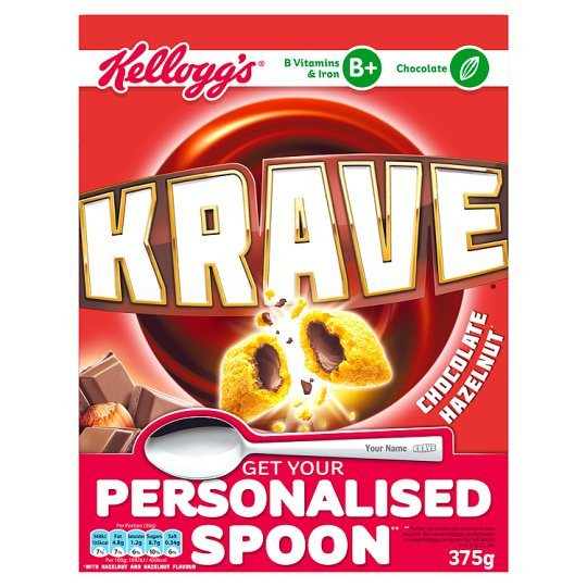 Kelloggs Krave Cereal 375g - Grocemania