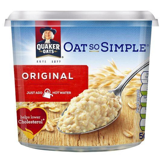 Grocemania Grocery Delivery London| Quaker Oat So Simple Porridge 50g
