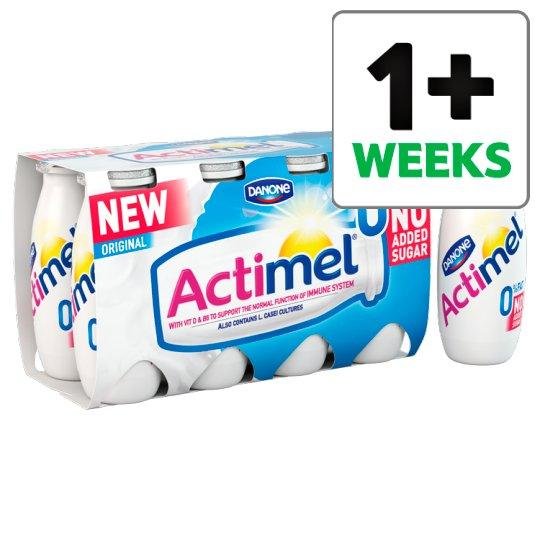 Grocemania Grocery Delivery London| Actimel Fat Free Original Yogurt Drink 8 X100g