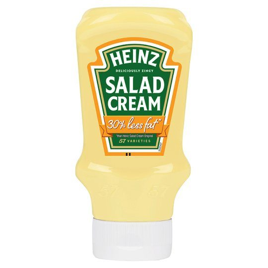 Grocemania Grocery Delivery London| Heinz Salad Cream 30% Less Fat 415g