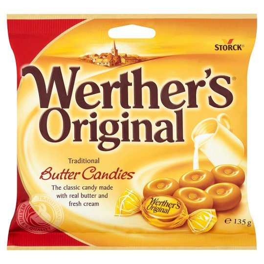 Grocery Delivery London - Werthers Original 135g same day delivery