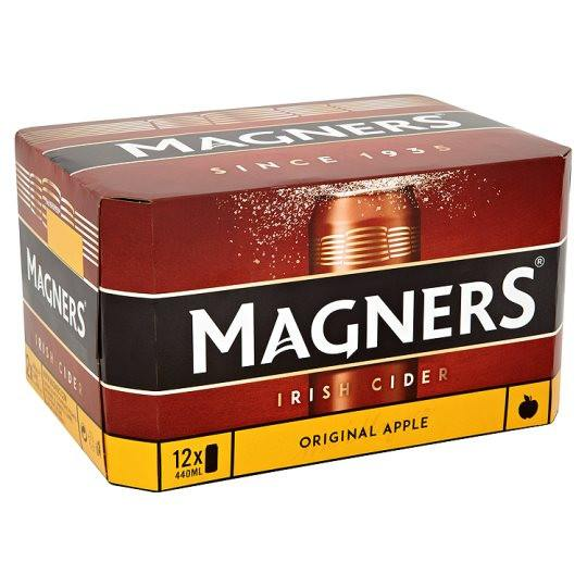 Grocemania Grocery Delivery London| Magners Original Irish Cider 12x440ml
