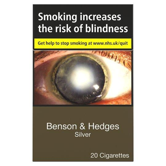 Grocery Delivery London - Benson And Hedges Silver King Size 20 Pack same day delivery