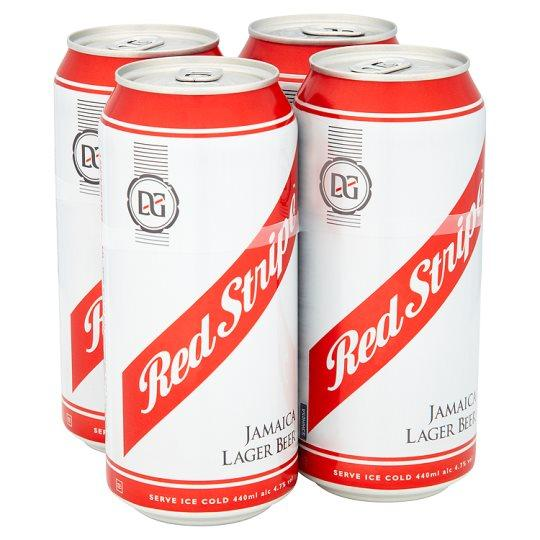 Grocemania Grocery Delivery London| Red Stripe 4x440ml