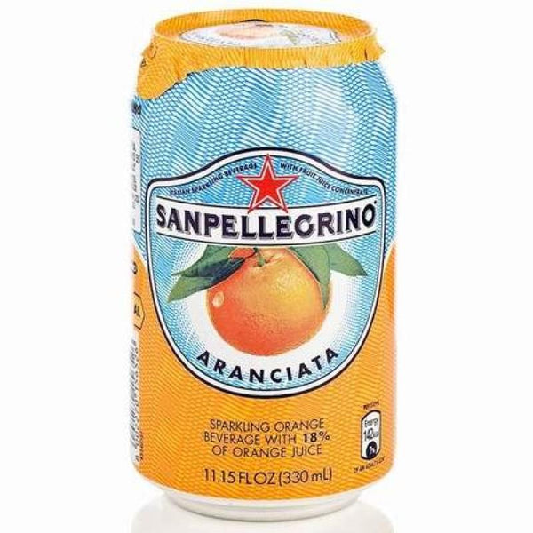 Grocemania Grocery Delivery London| San-Pellegrino Aranciata 330ml