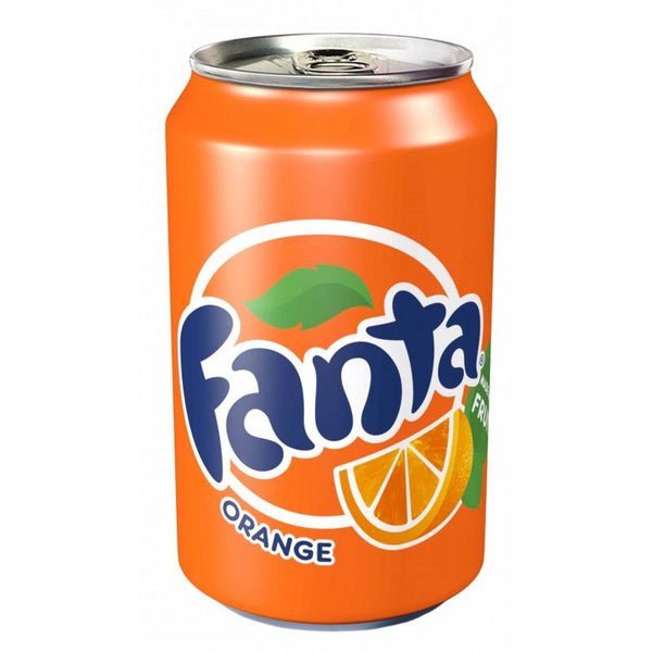 Grocery Delivery London - Fanta Orange 330ml same day delivery