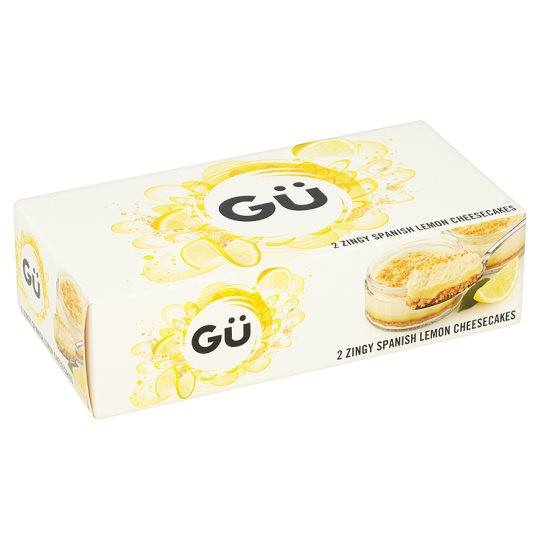 Grocemania Grocery Delivery London| GU Lemon Cheesecake 2X90g