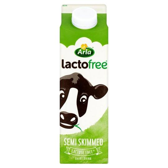 Grocery Delivery London - Arla Lactofree Semi-Skimmed Milk 1L same day delivery