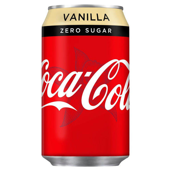 Grocemania Grocery Delivery London| Coca-Cola Zero Vanilla 330ml