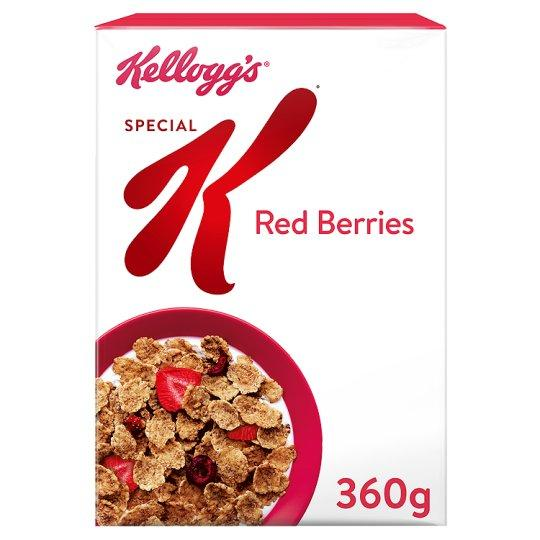 Grocemania Grocery Delivery London| Kelloggs Special K Red Berries Cereal 360g