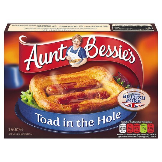 Grocery Delivery London - Aunt Bessie's Toad In The Hole 190g same day delivery