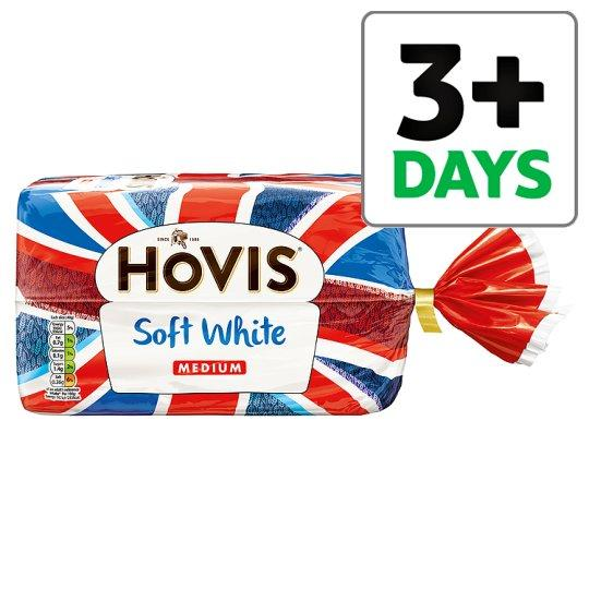 Grocemania Grocery Delivery London| Hovis Soft White Medium Bread 800g