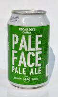 Grocemania Grocery Delivery London| Ricardo's Cellar Pale Face Pale Ale 330ml