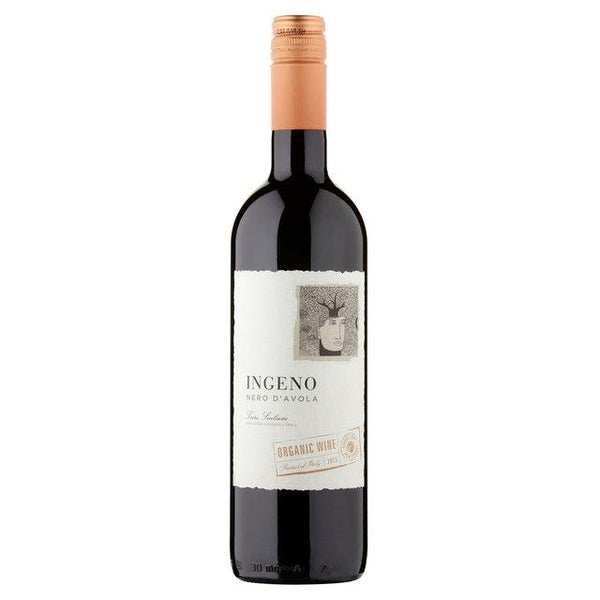 Grocery Delivery London - Ingeno Organic Nero d'Avola 750ml same day delivery