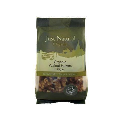 Grocemania Grocery Delivery London| Just Natural Organic Walnut Halves 125g
