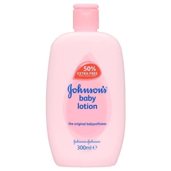 Grocery Delivery London - Johnson's Baby Lotion 50% 300ml same day delivery