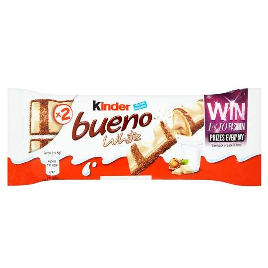 Grocemania Grocery Delivery London| Kinder Bueno White 39g