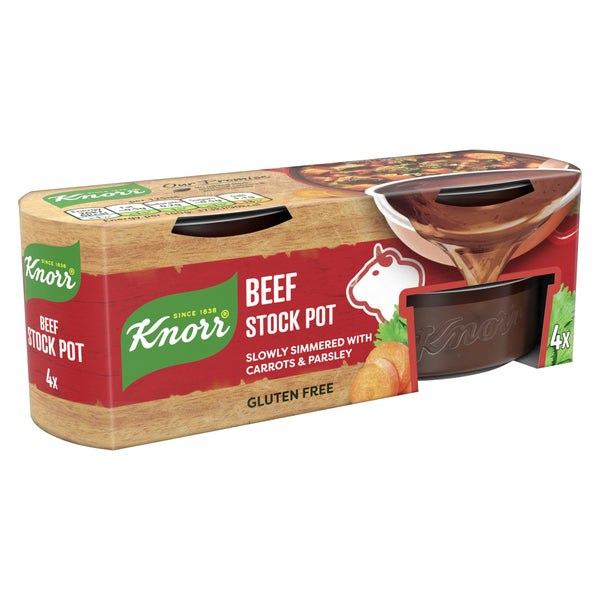 Grocery Delivery London - Knorr Beef Stock Pot 4 X 28G same day delivery