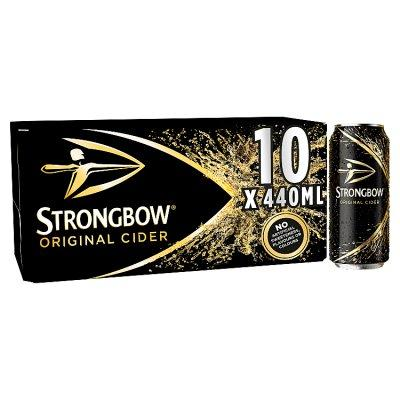 Grocery Delivery London - Strongbow 10x440ml same day delivery