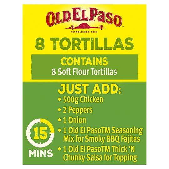 Grocery Delivery London - Old El Paso Smoky BBQ Tortillas 35g same day delivery