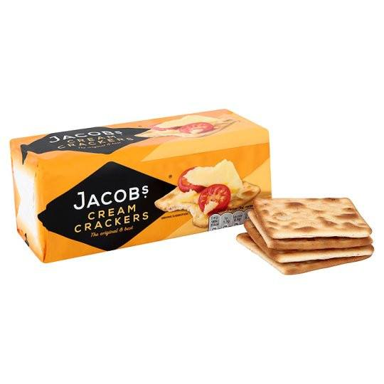 Grocemania Grocery Delivery London| Jacob Cream Crackers 200g
