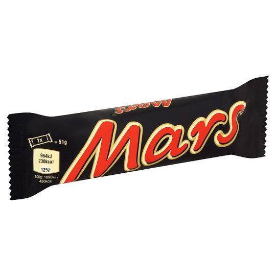 Grocery Delivery London - Mars Bar 51g same day delivery
