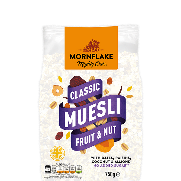 Grocery Delivery London - Mornflake Classic Granola – Fruit & Nut 750g same day delivery