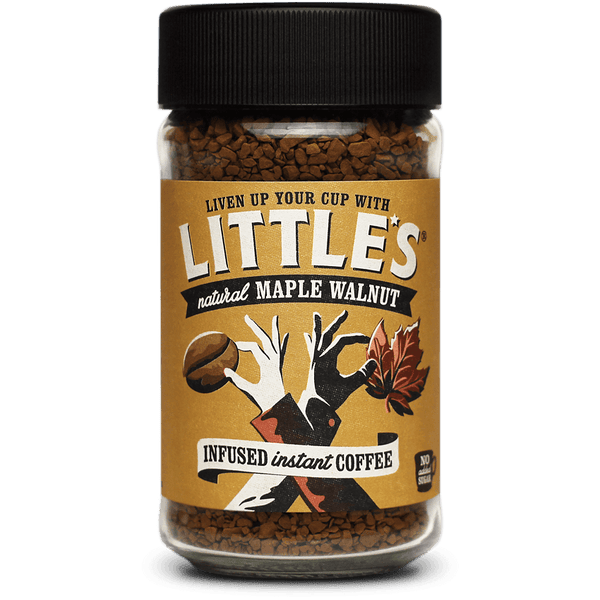 Grocery Delivery London - Little's Maple Walnut Instant Coffee 50g same day delivery